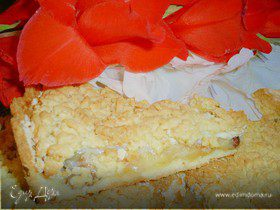 """Яблочный пирог """"Искушение вкусом"""""""