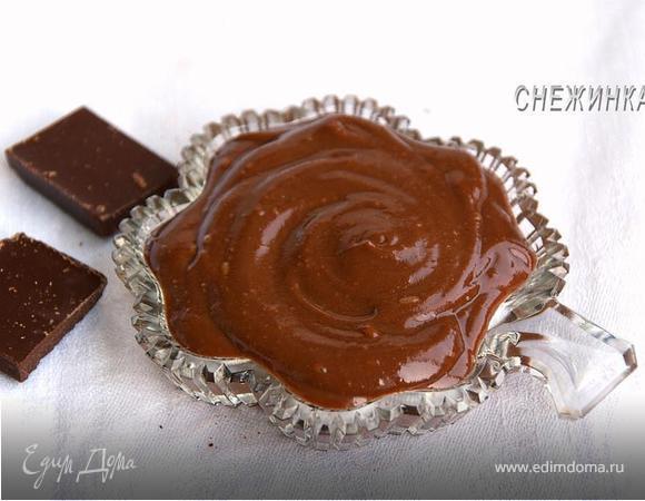 как приготовить заварной шоколадный крем дома