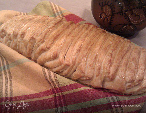 """Итальянский хлеб """"Гармошка"""""""