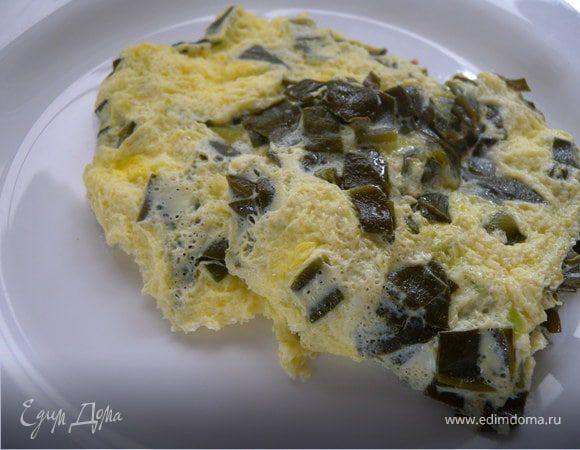 Омлет с малабарским шпинатом