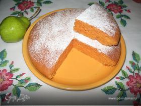 Томатный сладкий пирог (постный)