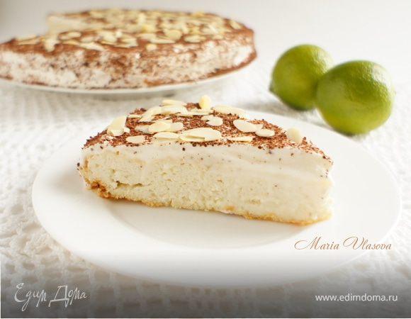 Творожно-лаймовый пирог (низкокалорийный)