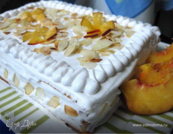 Торт вафельно-фруктовый