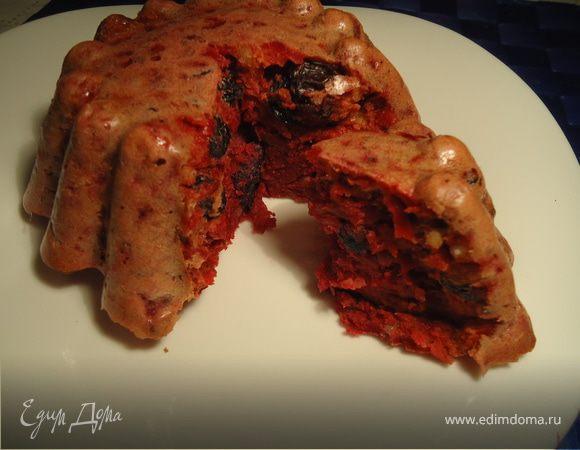 Свекольный кейк