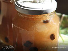 Варенье из груш с кофейными зернами