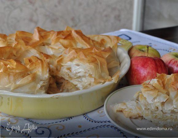 Гасконский яблочный пирог от Дж. Оливера