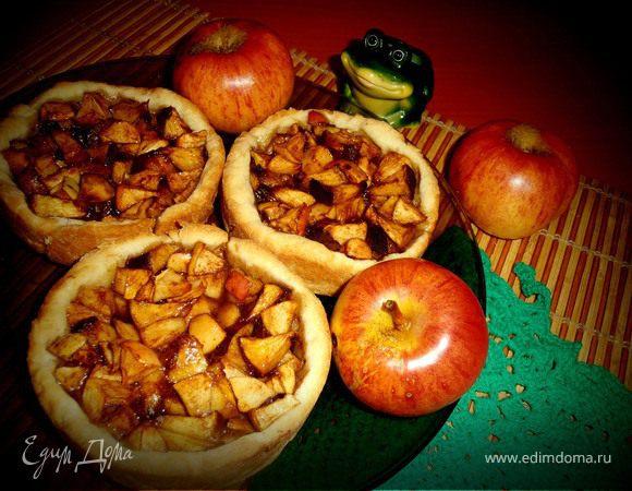 Деревенские ГАЛЕТЫ с яблоками (Home Queen Corporation)