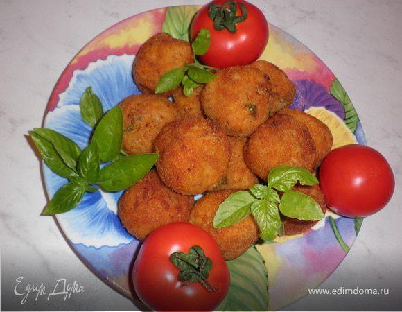 Рисовые шарики Аранчини (Arancini)