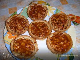 Деревенские галеты с яблоками и абрикосовым джемом от Юлии Высоцкой. Готовим с HomeQueen