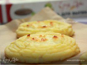 """Картофельные ватрушки с творожно-сырной начинкой. """"HomeQueen Corporation"""""""