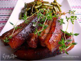 Свиные ребра горчично-медовые (из мультиварки)