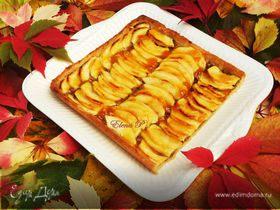 """""""Осенний поцелуй"""" - пирог, опаленный пламенем"""