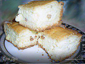 Румынский пирог с творогом (сладкий)