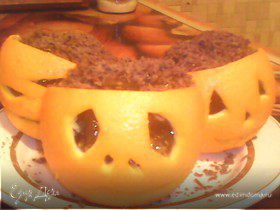 """Апельсиновые """"Фонарики Джека"""" для Halloween"""
