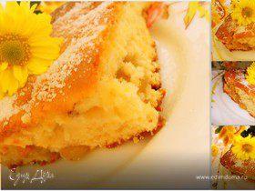 виноградно-ореховый пирог с апельсиновым ароматом