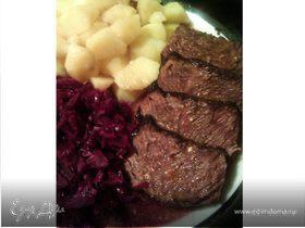 Маринованная говядина по-немецки (Sauerbraten)