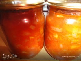 Овощная заправка ( для щей, борщей, солянок)