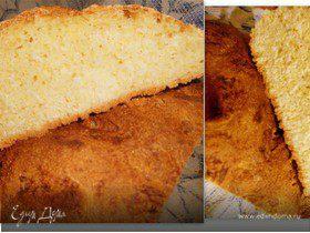 простой кукурузный хлебушек