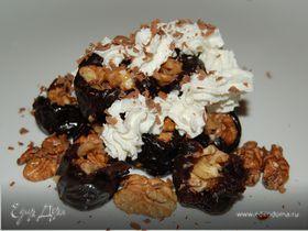 Десерт с черносливом