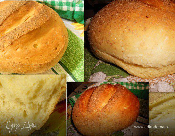 Горчичный хлеб, вымешанный в отрубях