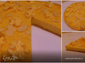 Новогодний мандариновый тарт (диетический)