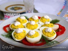 Назад в СССР: Фаршированные яйца под майонезом