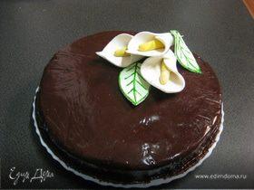 Шоколадная мастика для тортов