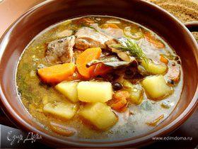 Назад в СССР: суп из рыбных консервов