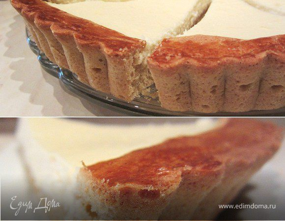 Тарт творожно-ванильный