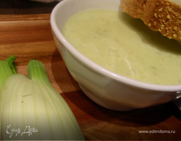 Крем-суп из фенхеля