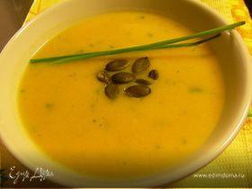 Крем-суп из тыквы с виски