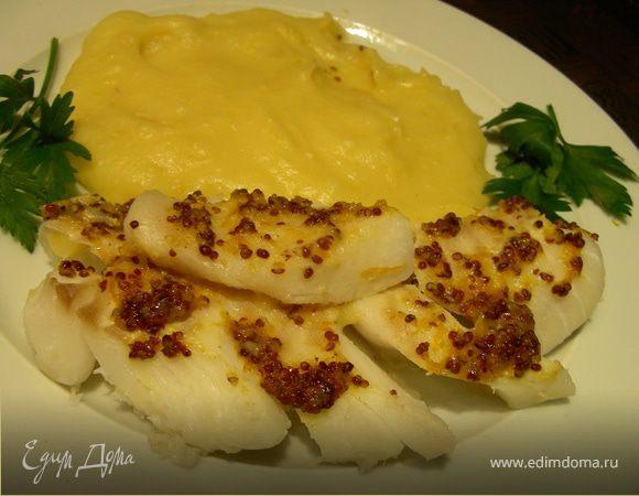 Рыба в горчично-апельсиновом соусе + Панчеп