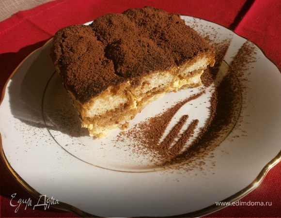 """Десерт """"Тирамису"""" - рецепт с математическим расчетом от итальянских хозяек"""