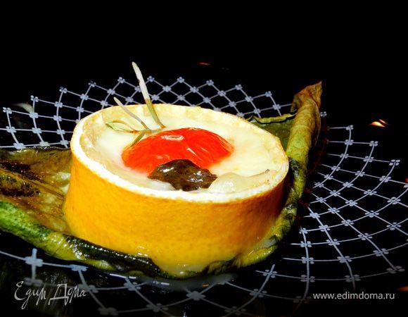 """Сицилийская закуска """"Лимоны с моцареллой"""""""