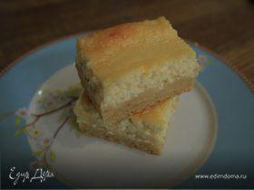 Цитрусовый пирог с рикоттой