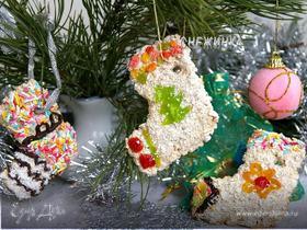Печенье-коржики «Рождественский сапожок»