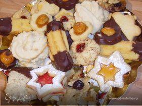 """Рождественское печенье """"Ментол в шоколаде"""" (After eight)"""