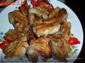 Ребрышки свиные в медовом соусе