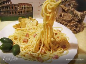 Спагетти карбонара (alla Carbonara)