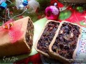 Шотландский новогодний кекс (Black Bun)