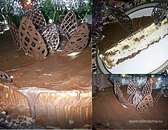 """Торт-конфета """"Баунти"""""""