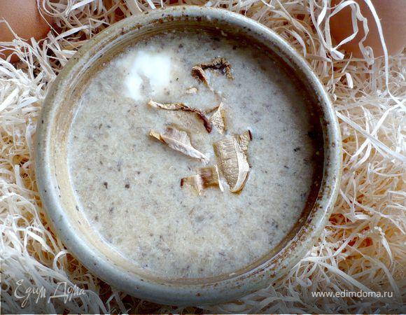 Грибной суп с курочкой «Ряба»