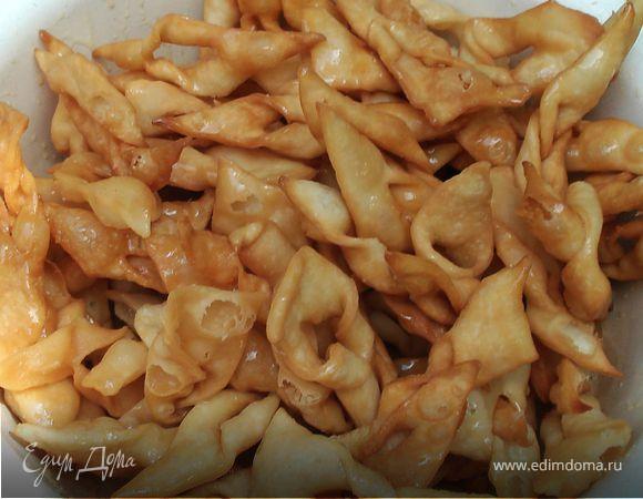 рецепты узбекского хвороста с медовым сиропом