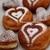Пончики с шоколадом для всех влюбленных