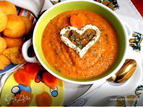 Солнечный супчик из морковки