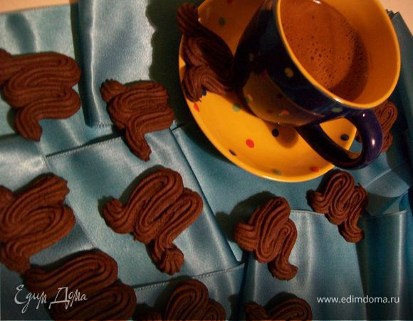 Венское шоколадное печенье с сюрпризом от Пьера Эрмэ