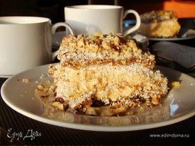 Кокосовое пирожное (Coconut Milk Bars)