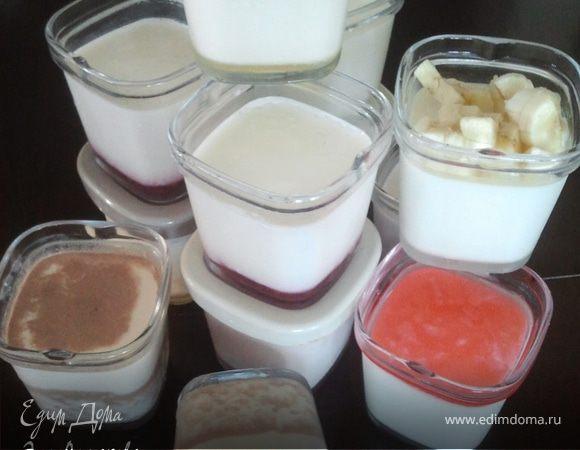Рецепты приготовления йогурта для йогуртницы
