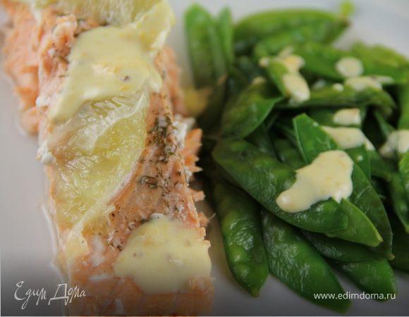 Филе лосося, запеченное с лаймом