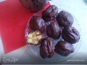 Венское печенье с абрикосовым конфитюром